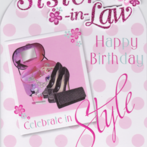 Sister-in-Law Birthday Cards