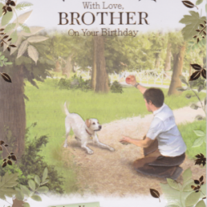 Brother Birthday Cards